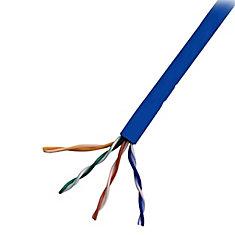 1000 ft UTP CAT5e Network Cable, Blue (CAT5211000B)