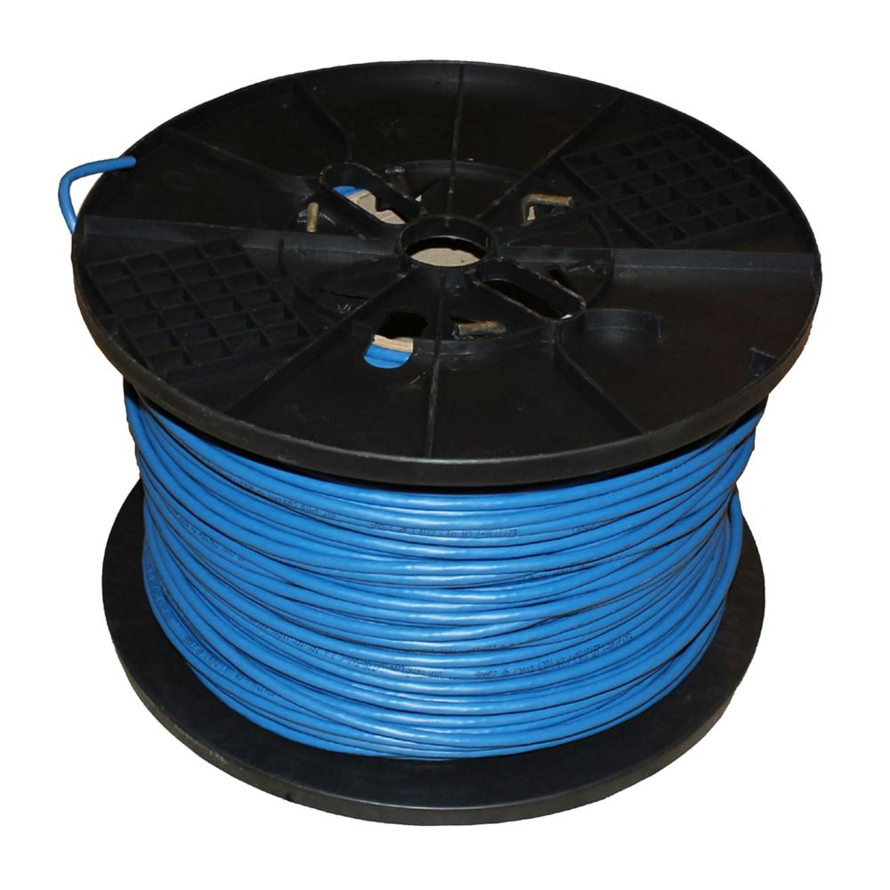 Southwire 500 ft. Tan 24/4 CAT5e Indoor/Outdoor Cable | The Home ...