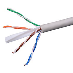 Electronic Master 1000 ft UTP CAT6 Network Cable, Grey (CAT6211000G)