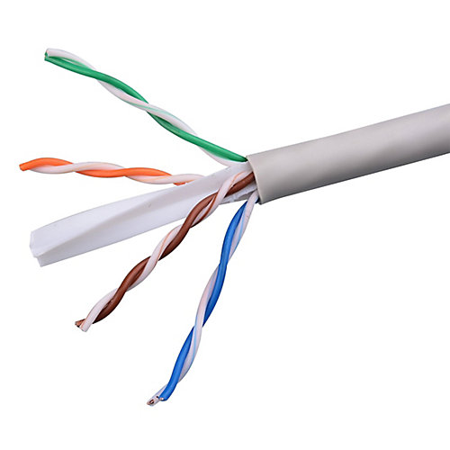1000 ft UTP CAT6 Network Cable, Grey (CAT6211000G)