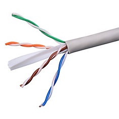 1000 ft UTP CAT6 Network Cable, White (CAT6211000W)