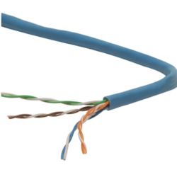 Electronic Master 1000 ft UTP CAT6 Network Cable, Blue (CAT6211000B)