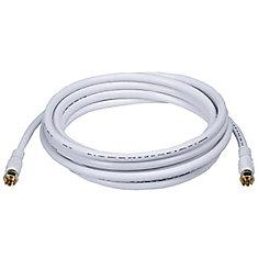 Câble coaxial Digiwave 12 ft. RG6 (RG621012WF)