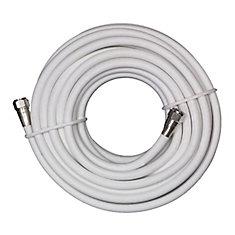 Digiwave Câble coaxial RG6 de 100 pi (RG621100WF)