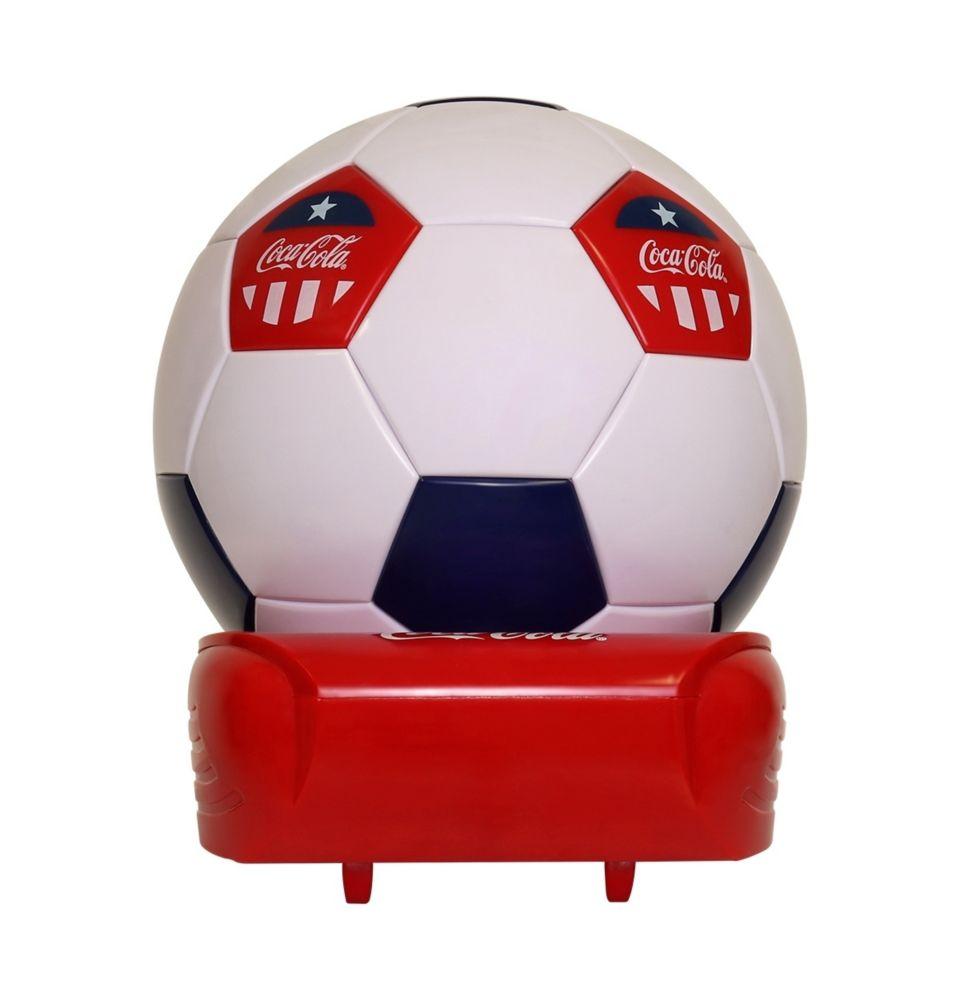 Koolatron Coca-Cola Soccer Ball Cooler