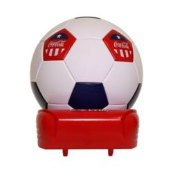 Koolatron Coca-Cola Soccer Ball Cooler
