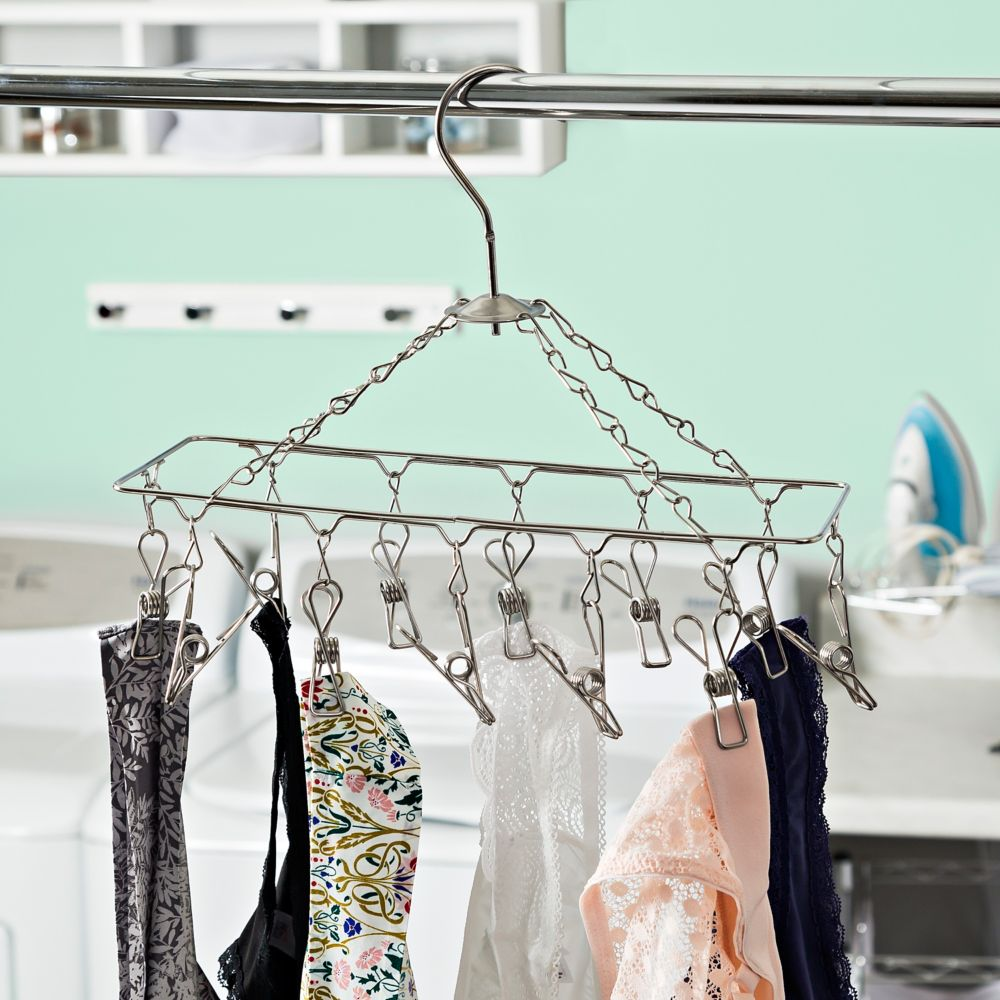 Honey Can Do Chrome Hanging Drying Rack