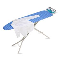 Honey Can Do 4-Leg Ironing Board with Retractable Iron Rest