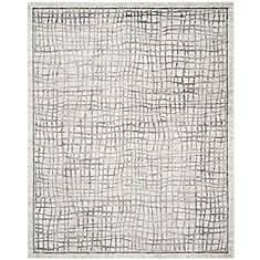 Adirondack Taylor Silver Ivory 8 Ft X 10 Indoor Area Rug