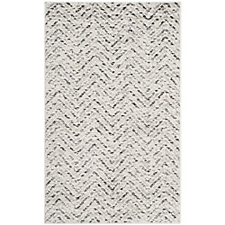 Safavieh Adirondack Kevin Ivory / Charcoal 3 ft. x 5 ft. Indoor Area Rug