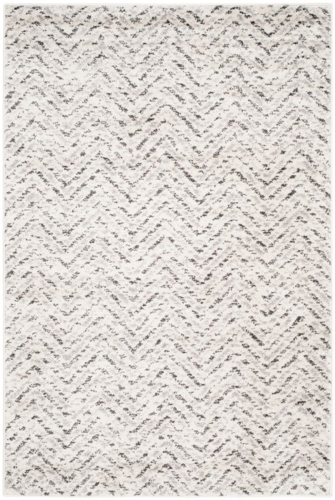 Safavieh Adirondack Kevin Ivory / Charcoal 4 ft. x 6 ft. Indoor Area Rug