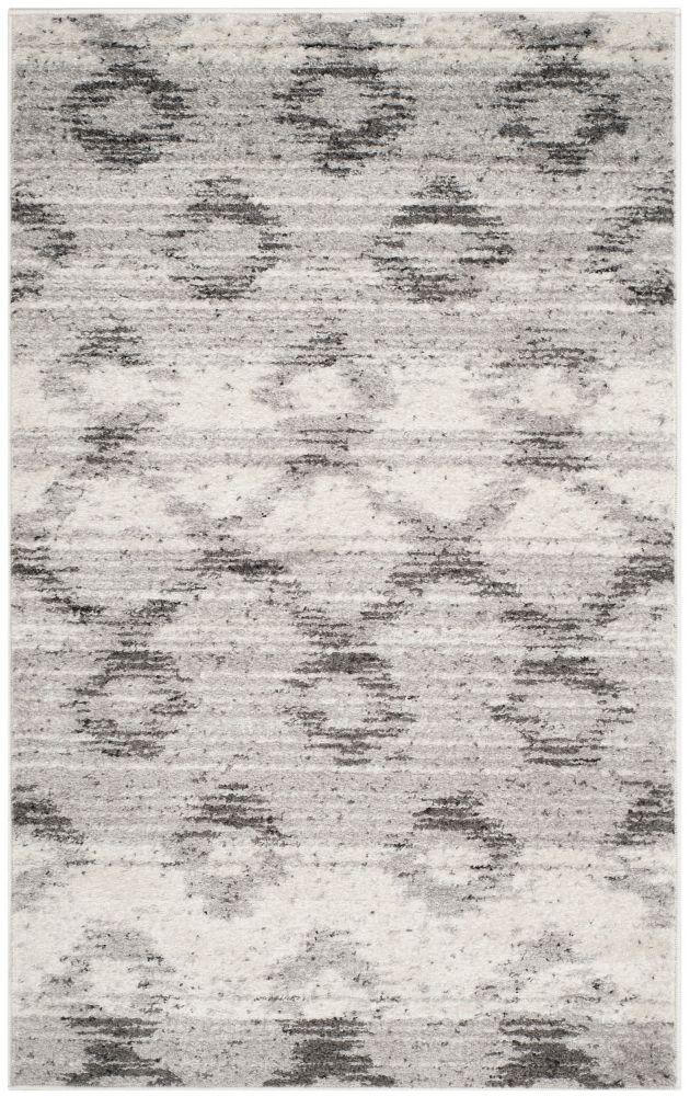 Safavieh Adirondack Isabel Silver / Charcoal 3 ft. x 5 ft. Indoor Area Rug
