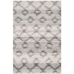 Safavieh Adirondack Isabel Silver / Charcoal 4 ft. x 6 ft. Indoor Area Rug