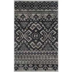 Safavieh Adirondack Karina Silver / Black 3 ft. x 5 ft. Indoor Area Rug