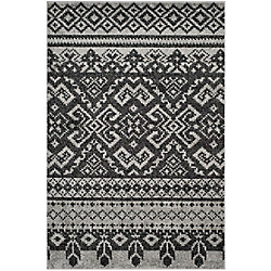 Safavieh Adirondack Karina Silver / Black 4 ft. x 6 ft. Indoor Area Rug