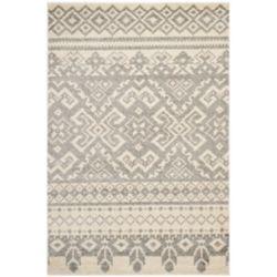 Safavieh Carpette d'intérieur, 4 pi x 6 pi, style traditionnel, rectangulaire, havane Adirondack