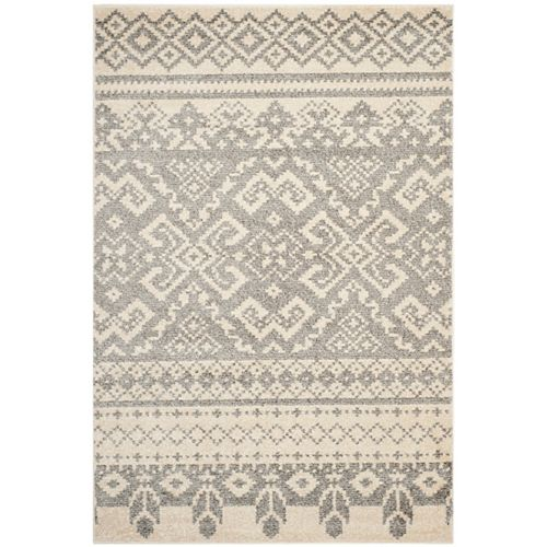 Safavieh Adirondack Karina Ivory / Silver 5 ft. 1 inch x 7 ft. 6 inch Indoor Area Rug
