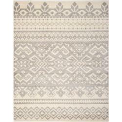 Safavieh Carpette d'intérieur, 9 pi x 10 pi, style traditionnel, rectangulaire, havane Adirondack