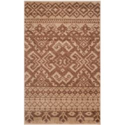 Safavieh Adirondack Karina Camel / Chocolate 2 ft. 6 inch x 4 ft. Indoor Area Rug