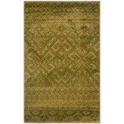 Safavieh Carpette d'intérieur, 3 pi x 5 pi, style traditionnel, rectangulaire, vert Adirondack