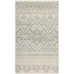 Safavieh Carpette d'intérieur, 3 pi x 5 pi, style traditionnel, rectangulaire, blanc cassé Adirondack