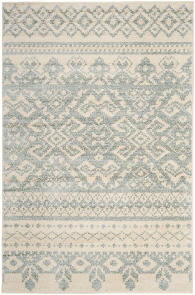 Safavieh Adirondack Karina Ivory / Slate 4 ft. x 6 ft. Indoor Area Rug