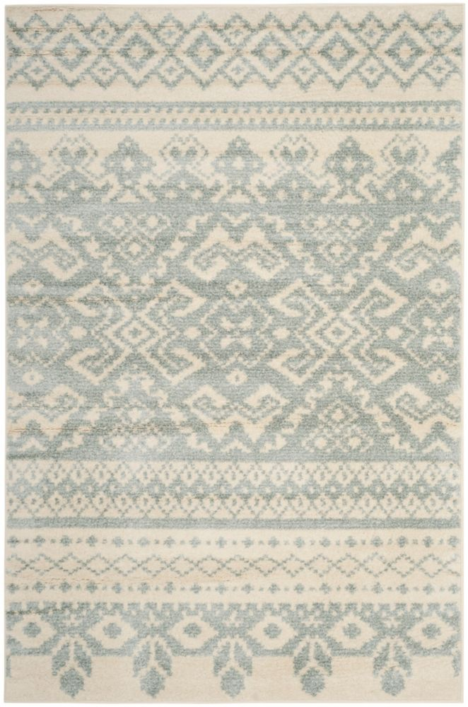 Safavieh Adirondack Karina Ivory / Slate 5 ft. 1 inch x 7 ft. 6 inch Indoor Area Rug