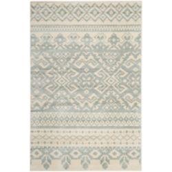 Safavieh Carpette d'intérieur, 5 pi 1 po x 7 pi 6 po, style traditionnel, rectangulaire, blanc cassé Adirondack
