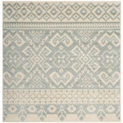 Safavieh Adirondack Karina Ivory / Slate 6 ft. x 6 ft. Indoor Square Area Rug