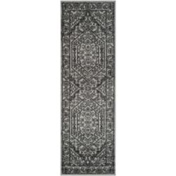 Safavieh Adirondack Winston Silver / Black 2 ft. 6 inch x 14 ft. Indoor Runner