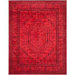 Safavieh Adirondack Winston Red / Black 8 ft. x 10 ft. Indoor Area Rug
