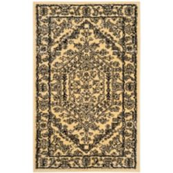 Safavieh Carpette d'intérieur, 2 pi 6 po x 4 pi, style traditionnel, rectangulaire, or Adirondack
