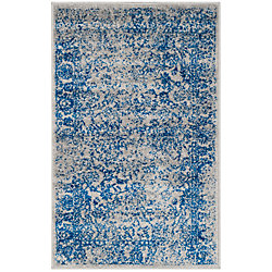 Safavieh Adirondack Mackenzie Grey / Blue 2 ft. 6 inch x 4 ft. Indoor Area Rug