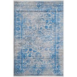 Safavieh Carpette d'intérieur, 5 pi 1 po x 7 pi 6 po, style traditionnel, rectangulaire, gris Adirondack