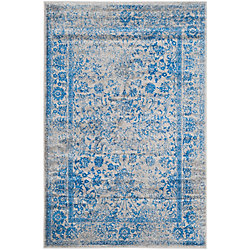 Safavieh Adirondack Mackenzie Grey / Blue 6 ft. x 9 ft. Indoor Area Rug
