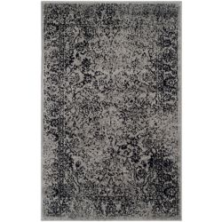 Safavieh Adirondack Mackenzie Grey / Black 2 ft. 6 inch x 4 ft. Indoor Area Rug