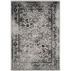 Safavieh Adirondack Mackenzie Grey / Black 4 ft. x 6 ft. Indoor Area Rug