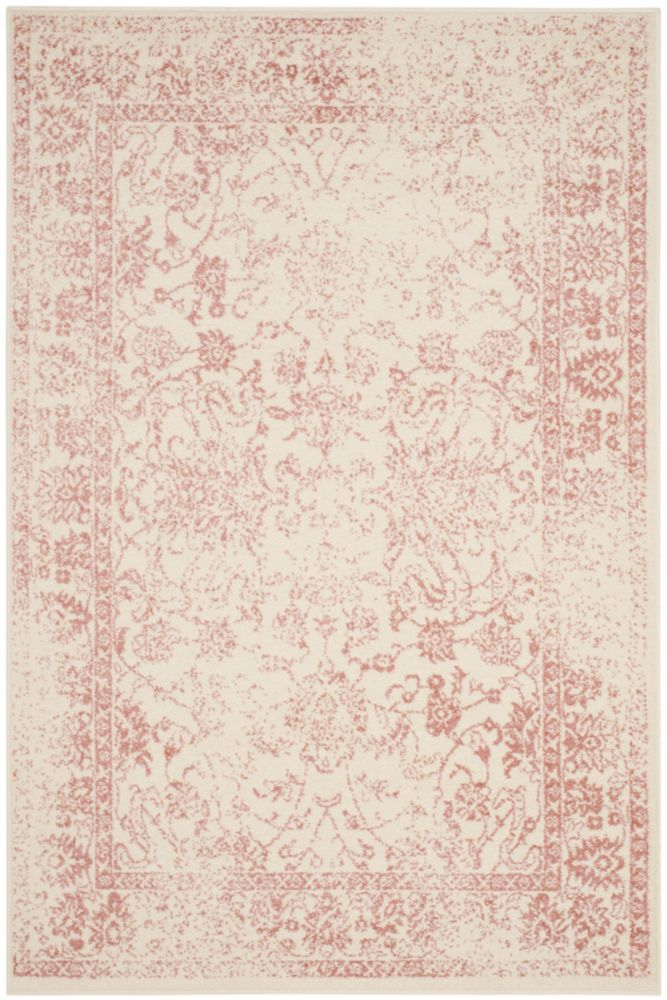 Safavieh Adirondack Mackenzie Ivory / Rose 4 ft. x 6 ft. Indoor Area Rug