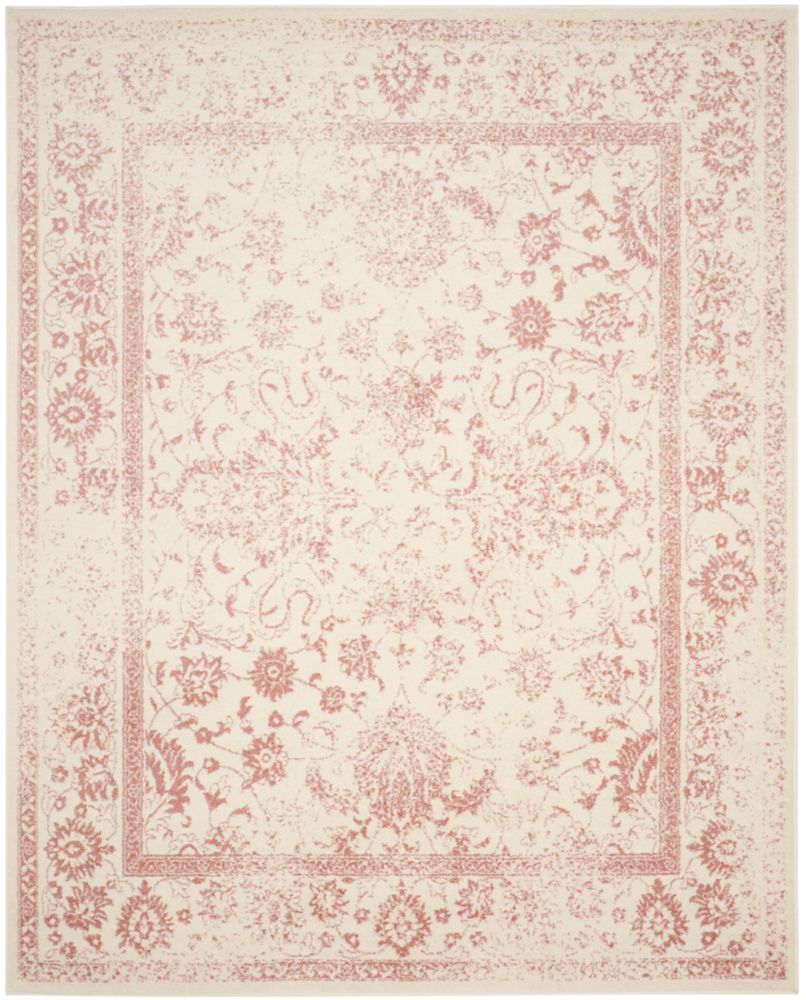 Safavieh Adirondack Mackenzie Ivory / Rose 8 ft. x 10 ft. Indoor Area Rug