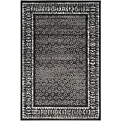 Safavieh Adirondack Luther Black / Silver 5 ft. 1 inch x 7 ft. 6 inch Indoor Area Rug