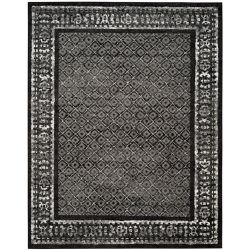 Safavieh Adirondack Luther Black / Silver 8 ft. x 10 ft. Indoor Area Rug