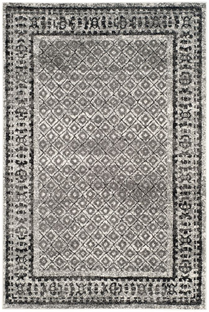 Safavieh Adirondack Luther Ivory / Silver 4 ft. x 6 ft. Indoor Area Rug