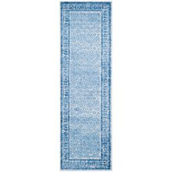 Safavieh Adirondack Luther Silver / Blue 2 ft. 6 inch x 8 ft. Indoor Runner