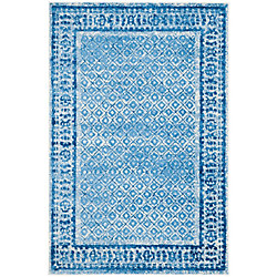 Safavieh Adirondack Luther Silver / Blue 4 ft. x 6 ft. Indoor Area Rug