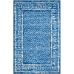 Safavieh Adirondack Luther Light Blue / Dark Blue 2 ft. 6 inch x 4 ft. Indoor Area Rug