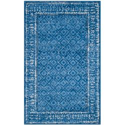 Safavieh Adirondack Luther Light Blue / Dark Blue 3 ft. x 5 ft. Indoor Area Rug
