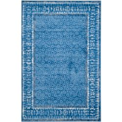Safavieh Adirondack Luther Light Blue / Dark Blue 5 ft. 1 inch x 7 ft. 6 inch Indoor Area Rug