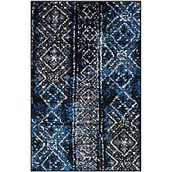 Safavieh Adirondack Carlie Silver / Black 2 ft. 6 inch x 4 ft. Indoor Area Rug