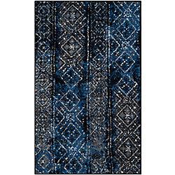Safavieh Adirondack Carlie Silver / Black 3 ft. x 5 ft. Indoor Area Rug