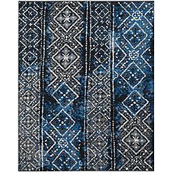 Safavieh Adirondack Carlie Silver / Black 8 ft. x 10 ft. Indoor Area Rug
